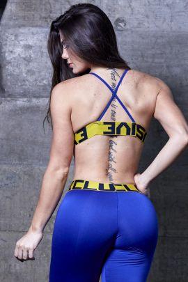 Top Stephanie Azul