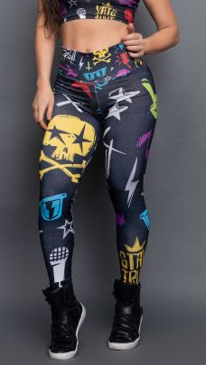 Calça Sublimada Rise Rock